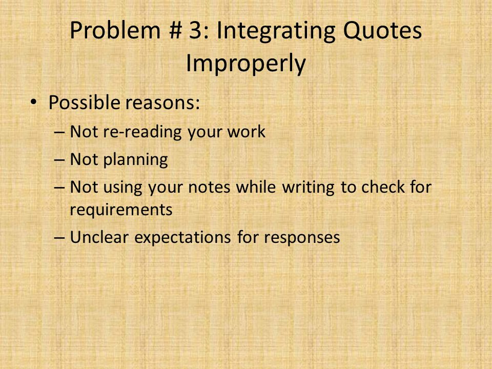 Rogue Wave Summative Assessment Notes for Remediation Review – Integrating Quotes Worksheet