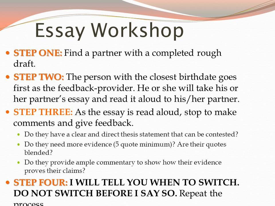 good life essay rough draft 03102012  view notes - essay rough draft from eng 092 at devry university, chicago family together, but offering it can pull the world closer respect is a positive.