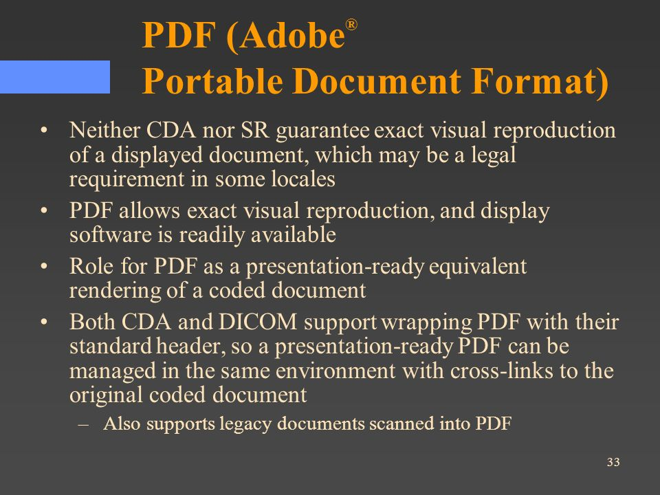 PDF (Adobe® Portable Document Format)