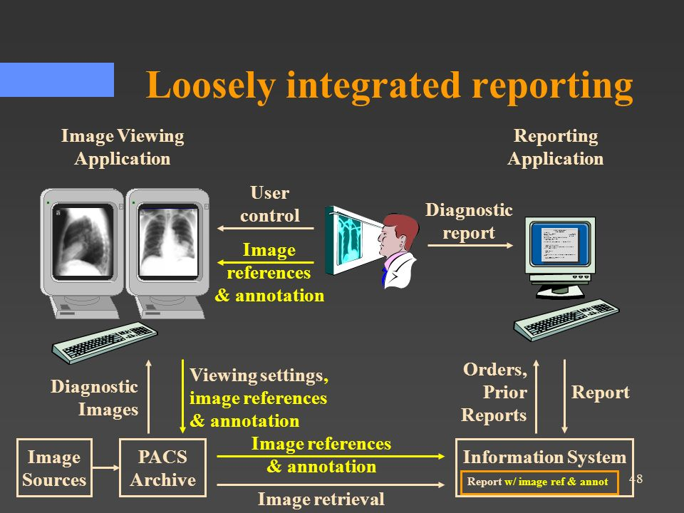 Loosely integrated reporting