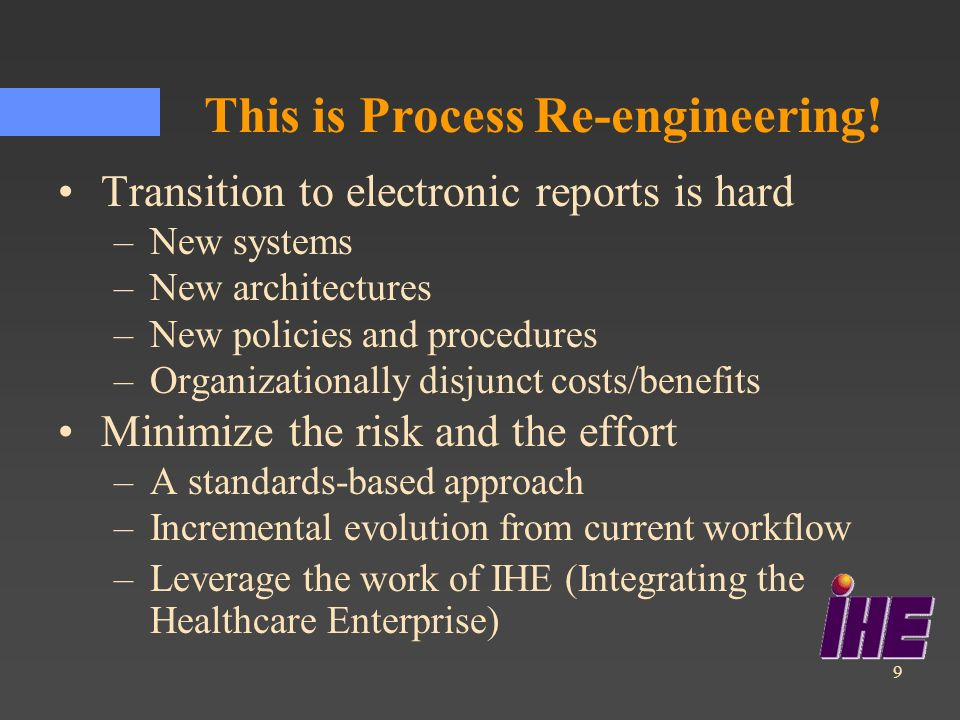 This is Process Re-engineering!