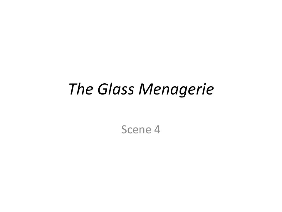 the glass menagerie toms entrapment essay The glass menagerie starts off as tom  the glass menagerie is called the 'memory play,' not only because the story is narrated through tom's analysis essays.