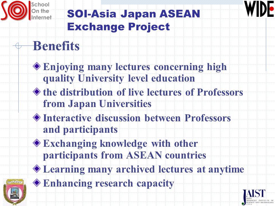 SOI-Asia Japan ASEAN Exchange Project