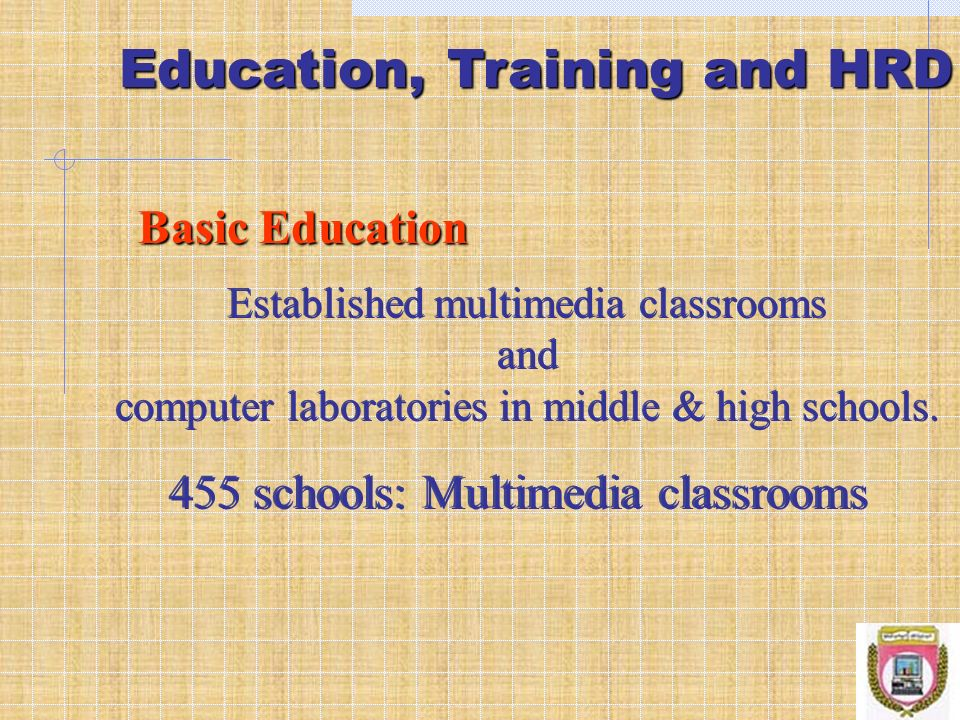 Education, Training and HRD