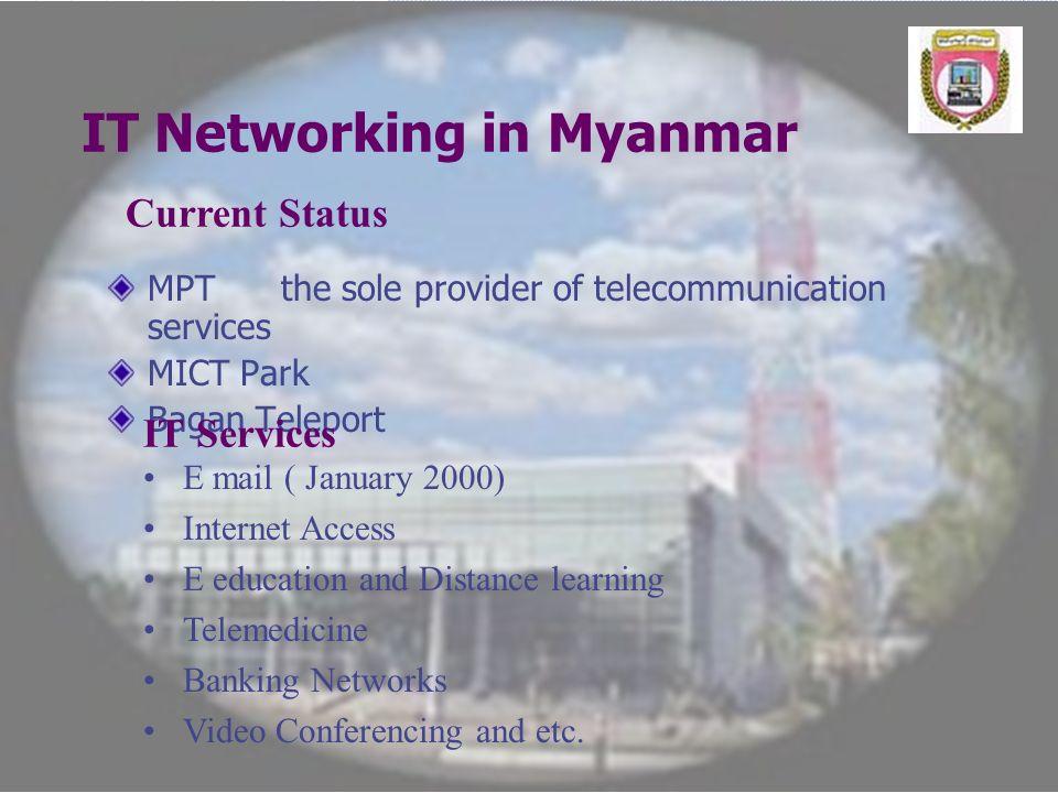 IT Networking in Myanmar