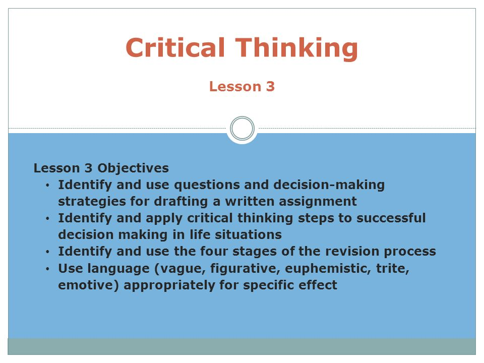 review and critical thinking questions 08 06 Answers to concepts review and critical thinking questions 1 the value of any investment depends on its cash flows ie, what investors will actually receive.