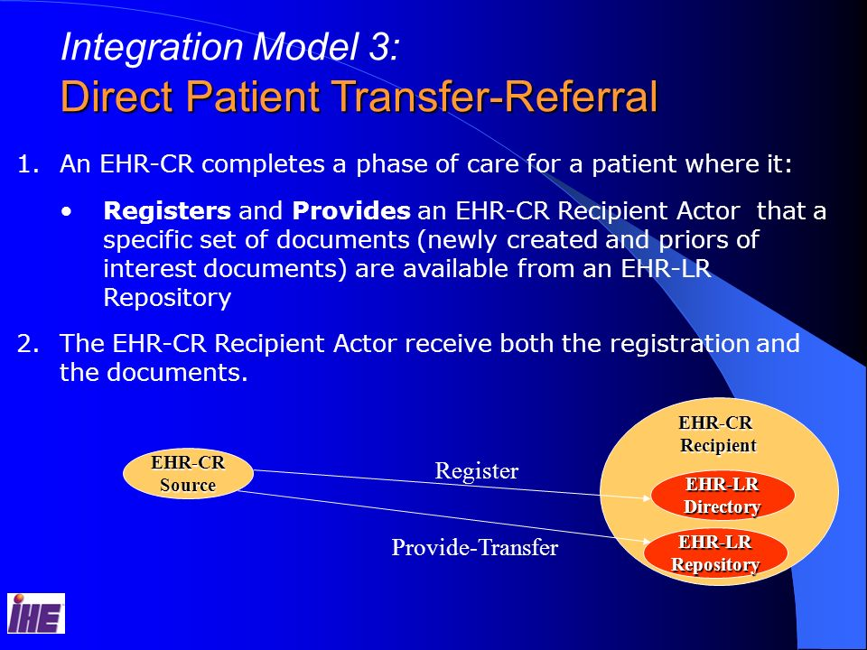 Direct Patient Transfer-Referral