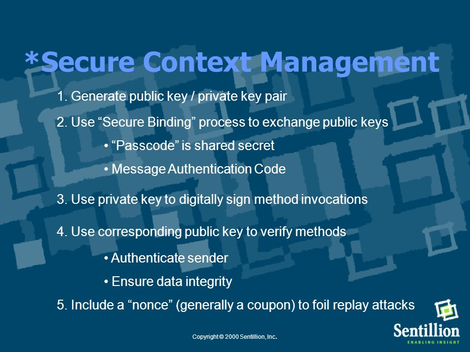 *Secure Context Management