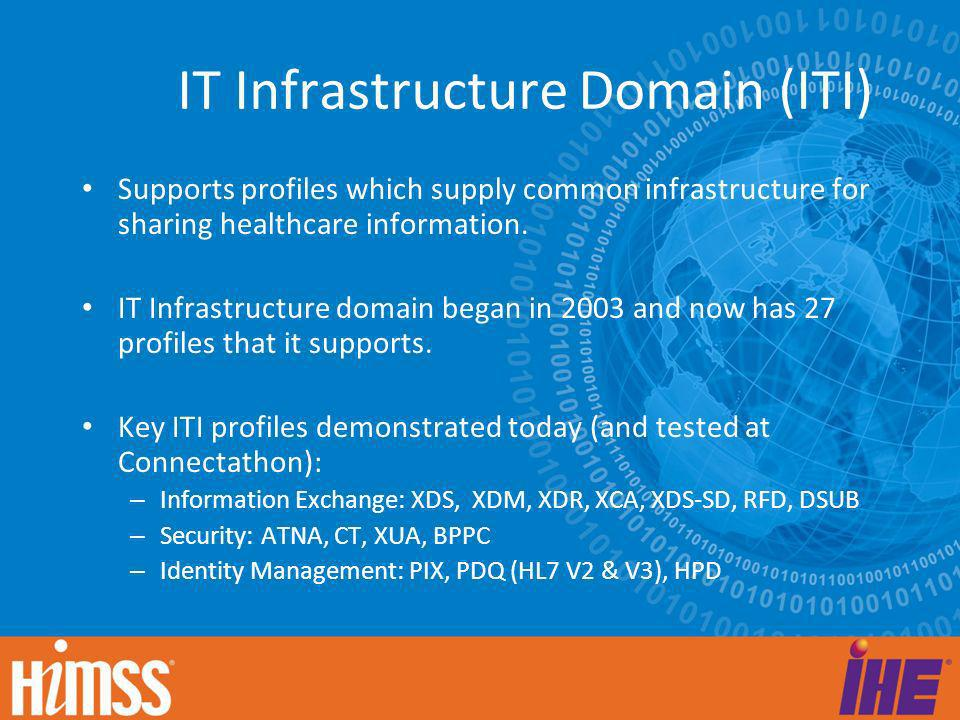IT Infrastructure Domain (ITI)