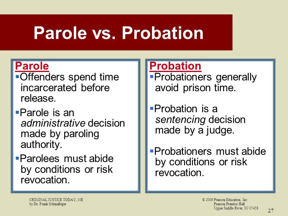 Upper Saddle River Nj >> 12 CHAPTER Probation, Parole, and Community Corrections - ppt video online download