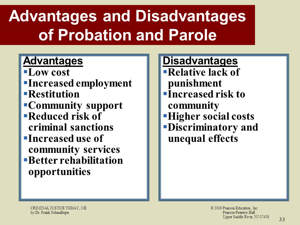 probation and punishment What happens when adults are sentenced, types of sentences and what the court considers when sentencing adults.