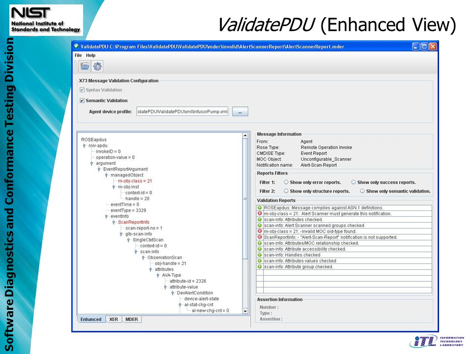 ValidatePDU (Enhanced View)