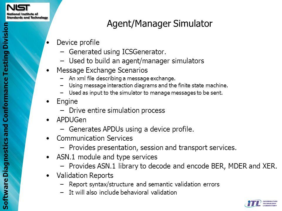 Agent/Manager Simulator