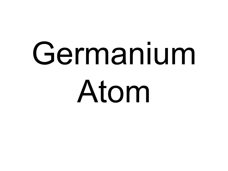 Germanium Atom