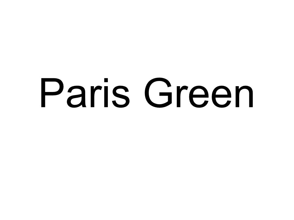 Paris Green