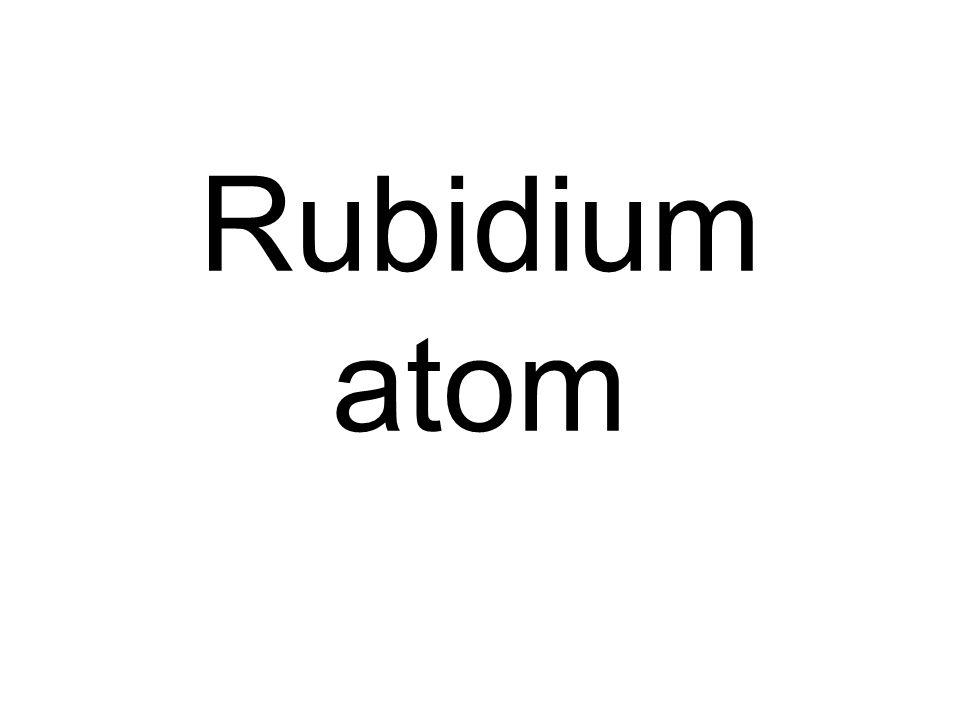 Rubidium atom