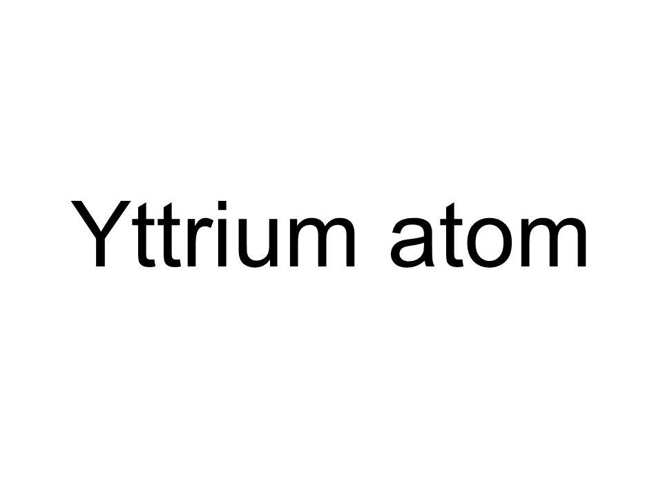 Yttrium atom