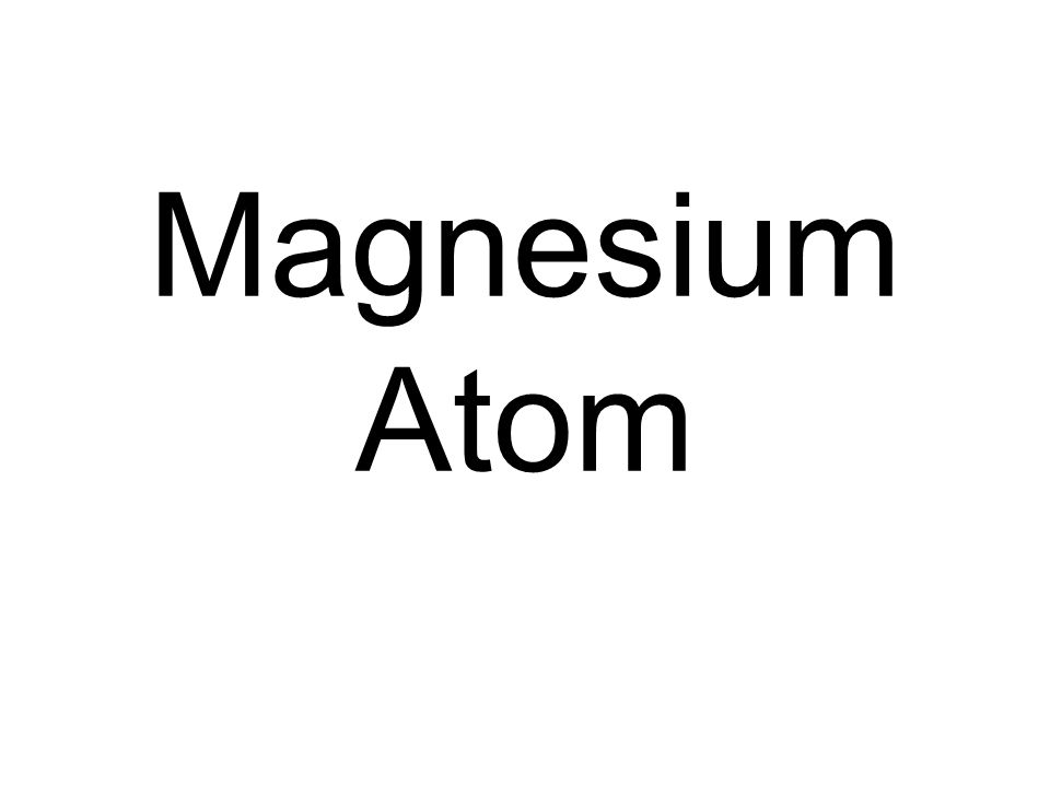 Magnesium Atom