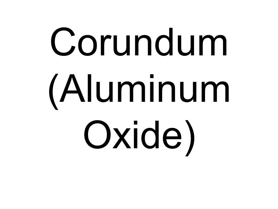 Corundum (Aluminum Oxide)