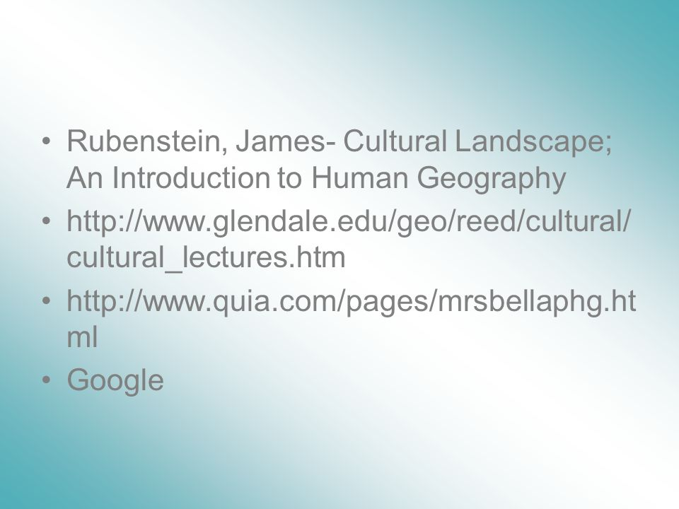 an introduction to the geography and culture of delaware Geography came into its own as a department at the university of delaware in  1966,  he and kimber team-taught the introductory course for several years as  the  among others, of the international association for cross-cultural  psychology,.