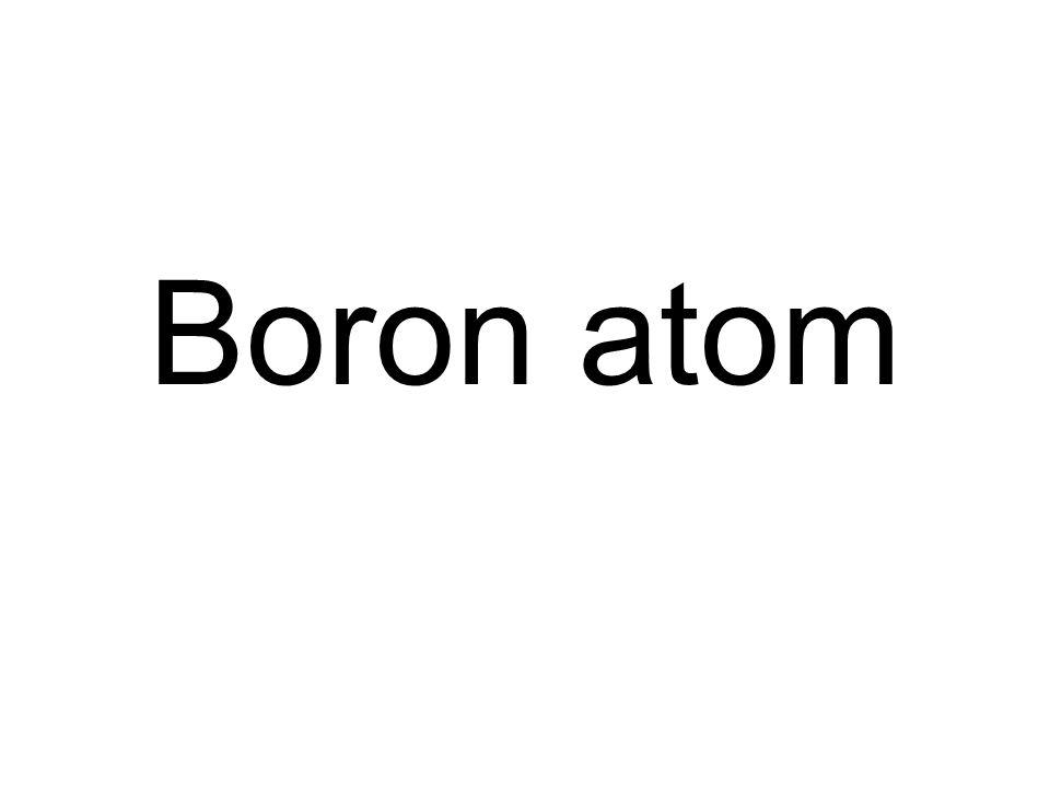 Boron atom