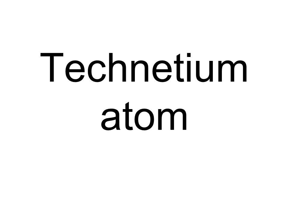 Technetium atom