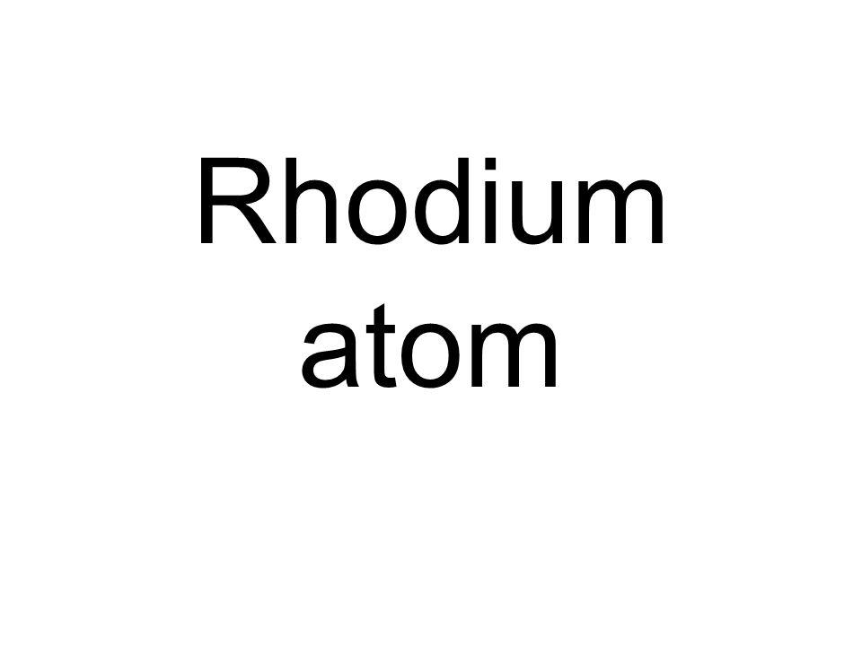 Rhodium atom