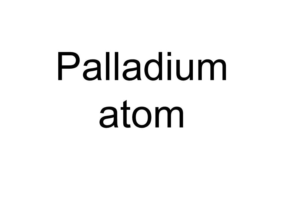 Palladium atom