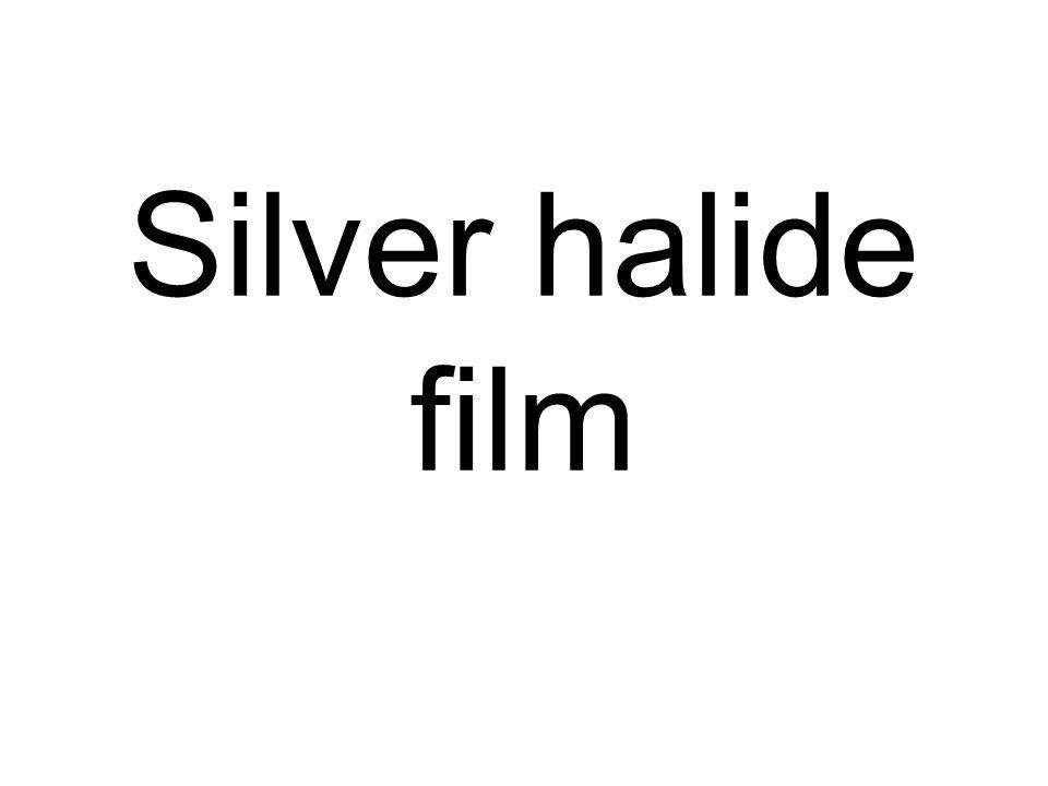 Silver halide film