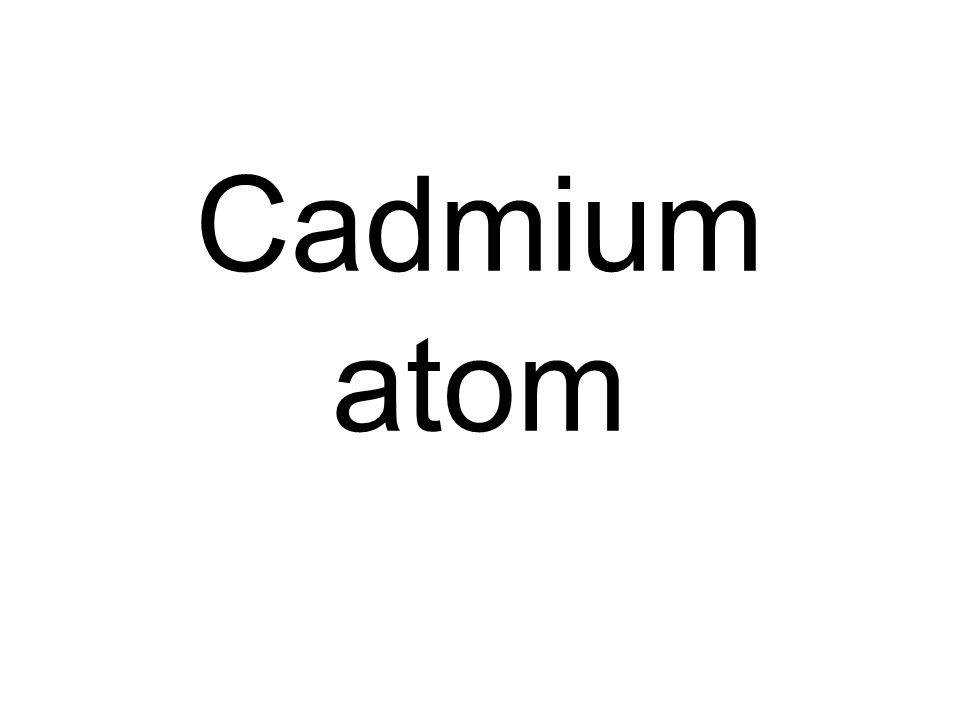 Cadmium atom