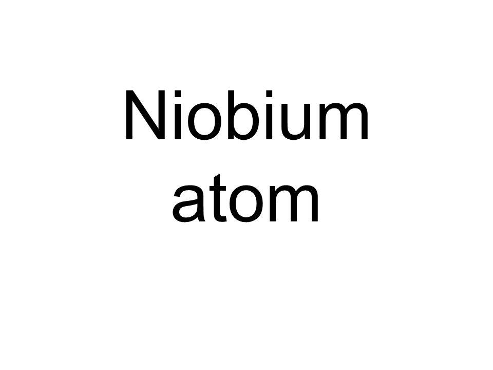 Niobium atom