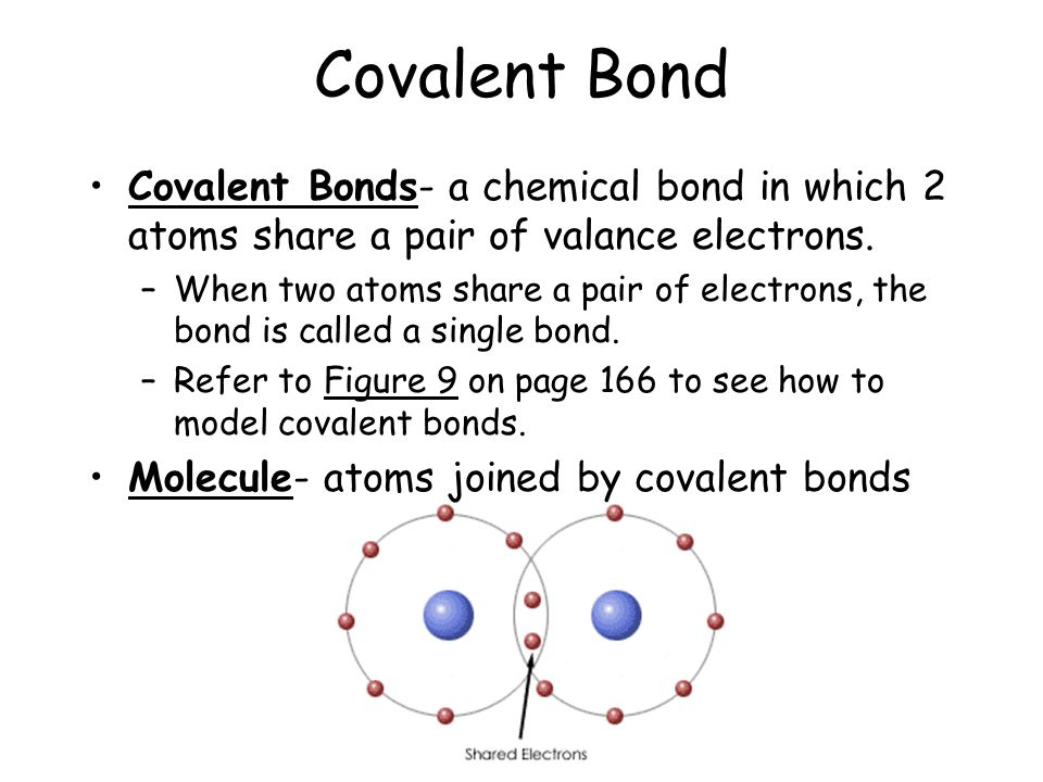 how to remember covalent bonds