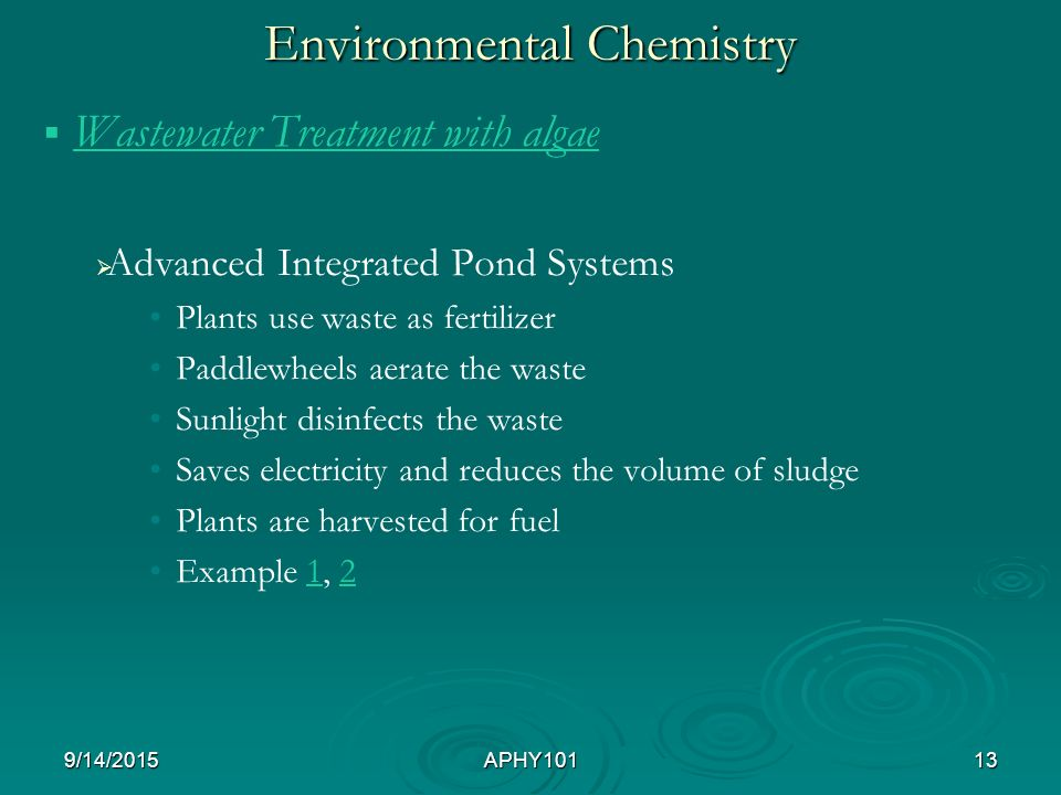 Environmental Chemistry Ppt Download