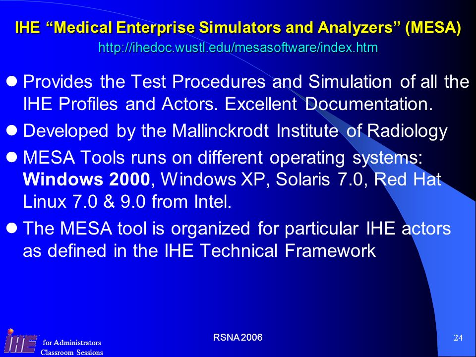 Developed by the Mallinckrodt Institute of Radiology