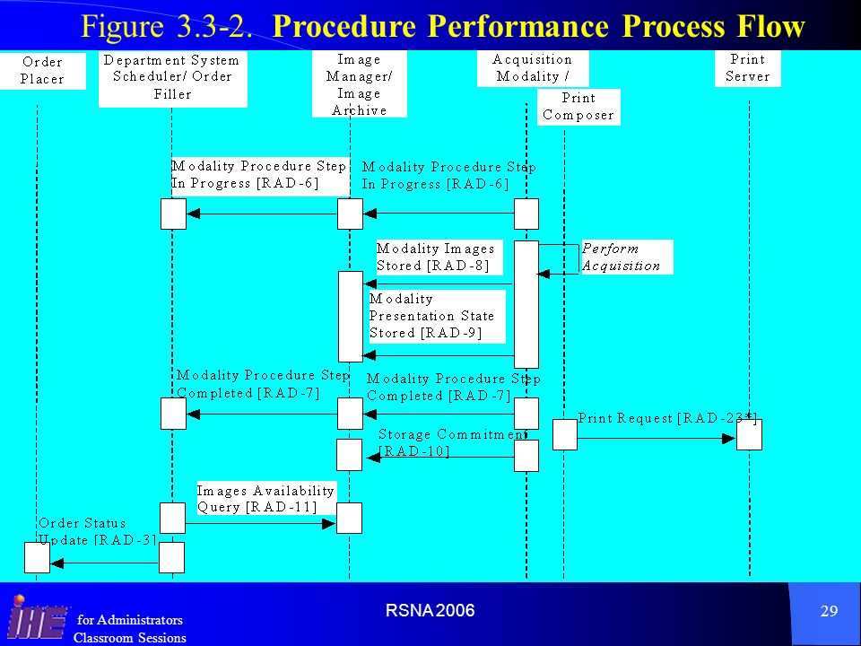 Figure 3.3-2. Procedure Performance Process Flow