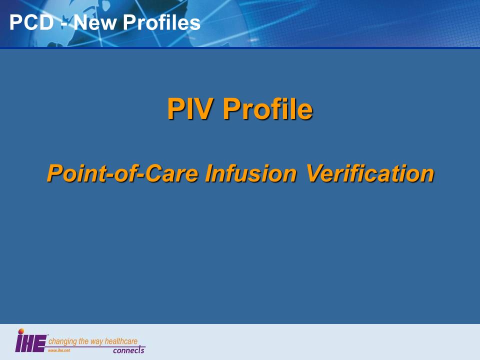 Point-of-Care Infusion Verification