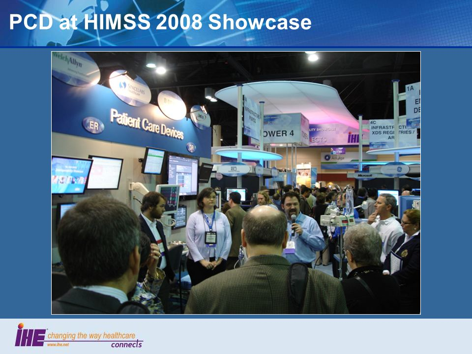 PCD at HIMSS 2008 Showcase 59