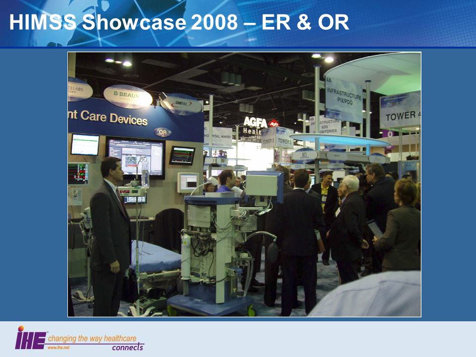 HIMSS Showcase 2008 – ER & OR 60