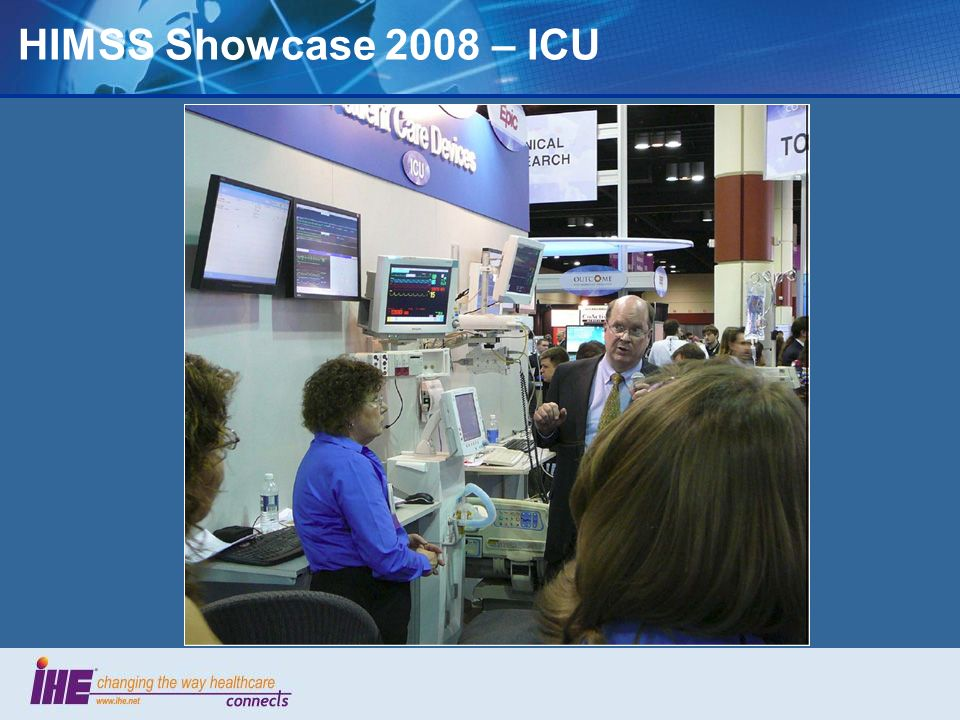 HIMSS Showcase 2008 – ICU 61