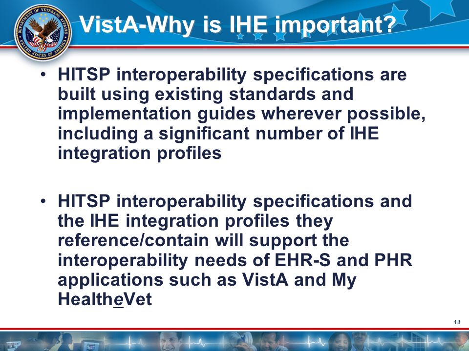 VistA-Why is IHE important
