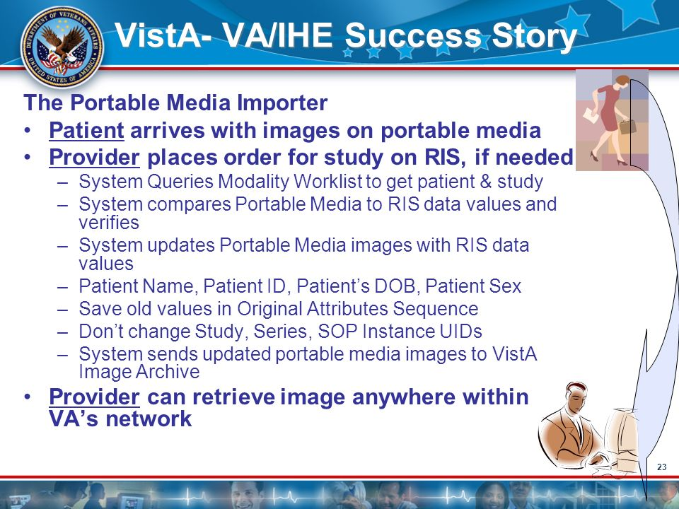 VistA- VA/IHE Success Story
