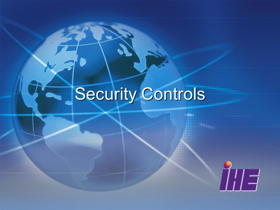 Security Controls