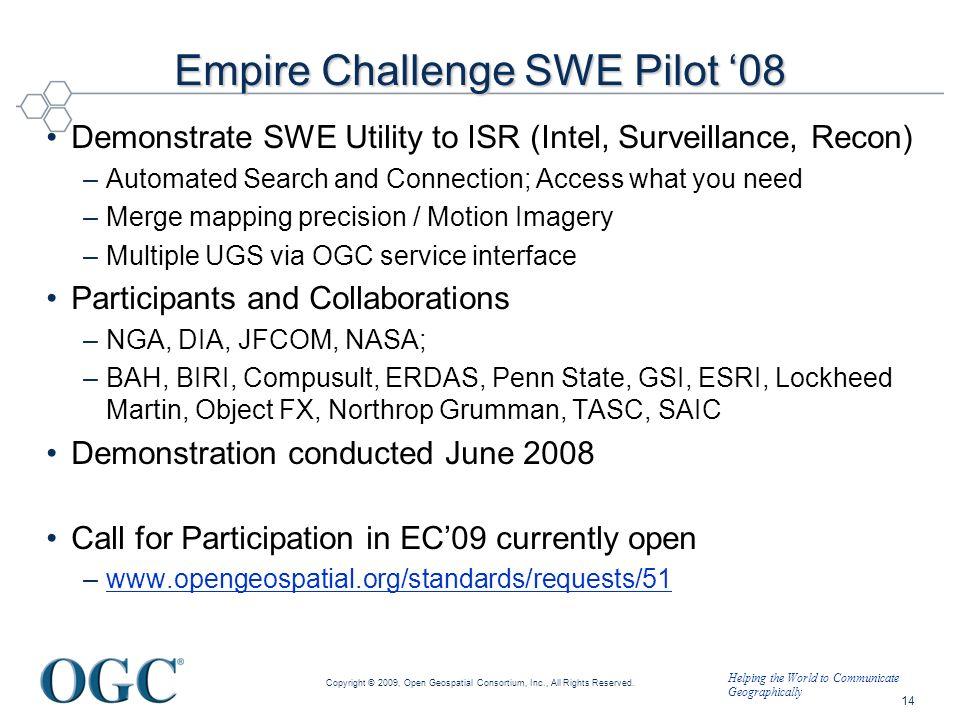 Empire Challenge SWE Pilot '08