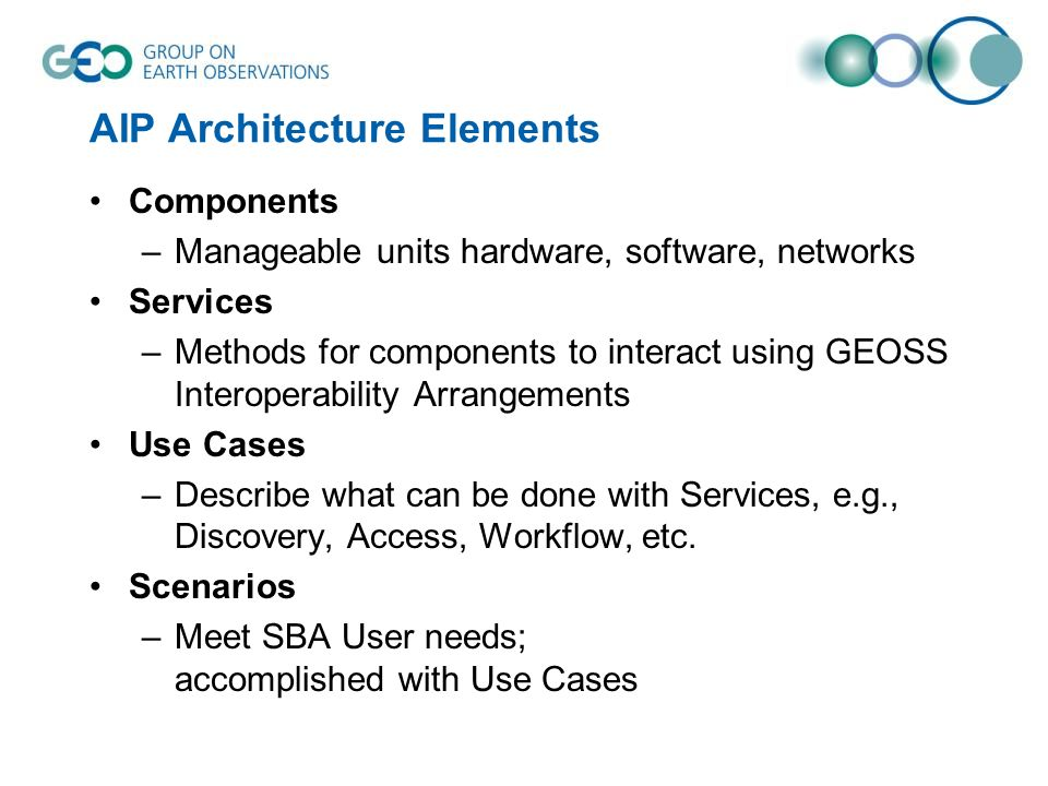 AIP Architecture Elements