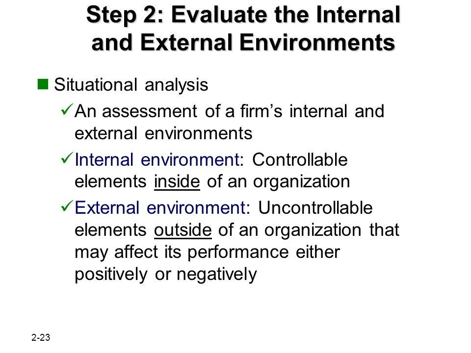 internal and external environment analysis of pepsi 2017-5-8 strategic management busmhr 4490 page 1  the internal and external environment  ch 3: external analysis,.