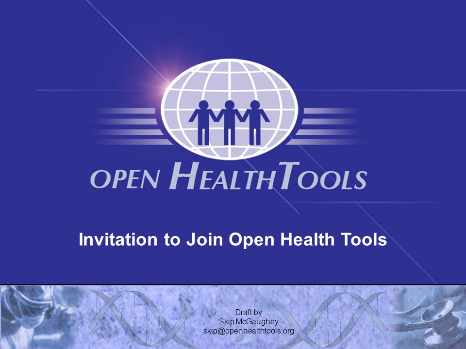 Invitation to Join Open Health Tools