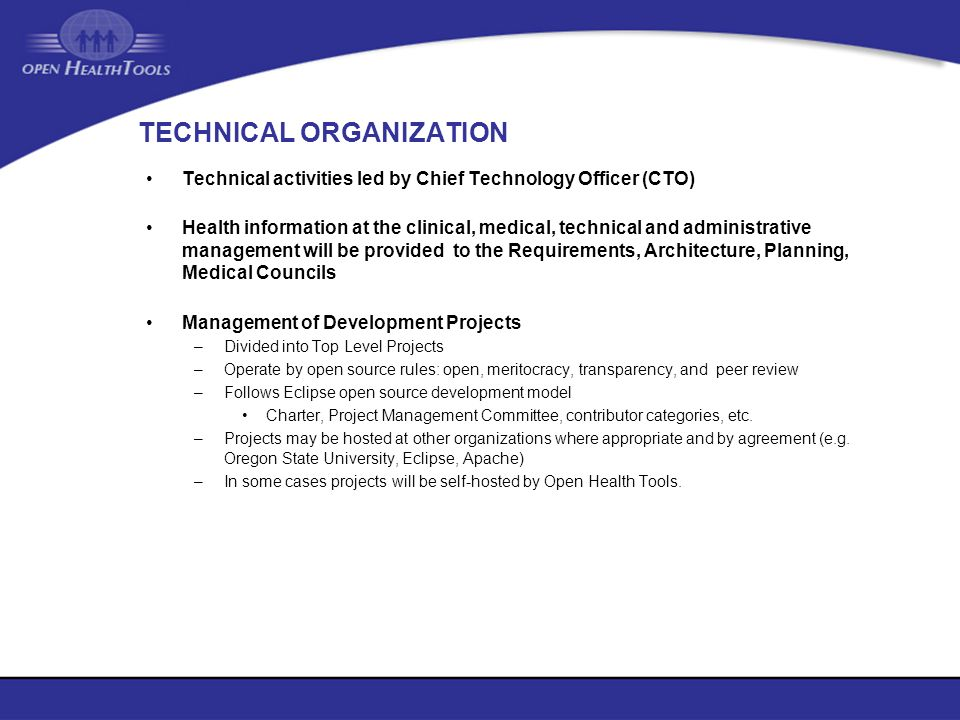 TECHNICAL ORGANIZATION