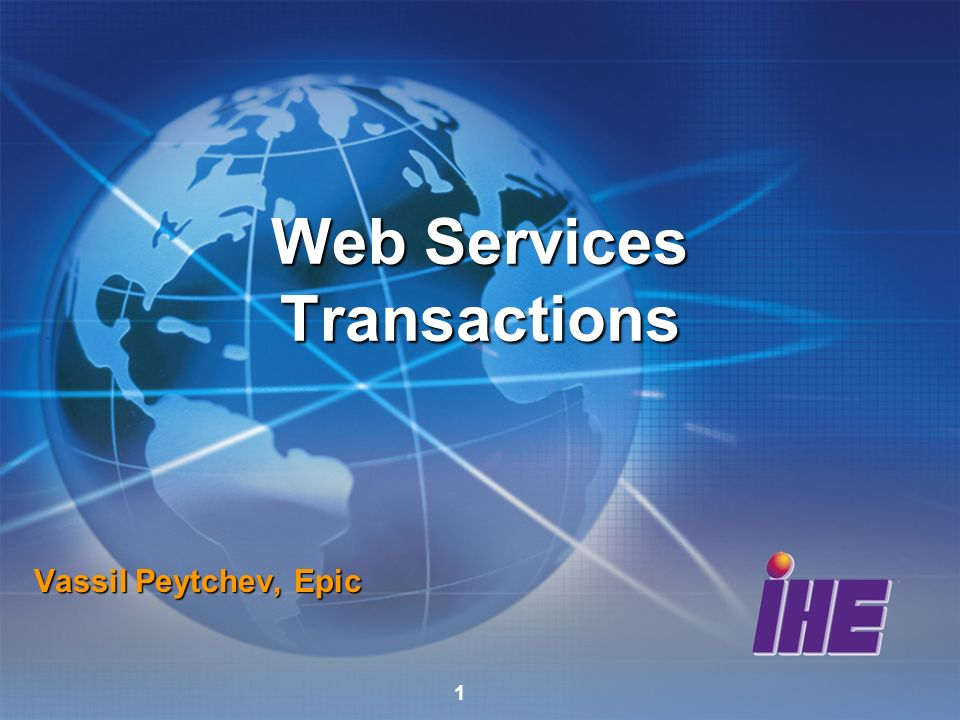 Web Services Transactions