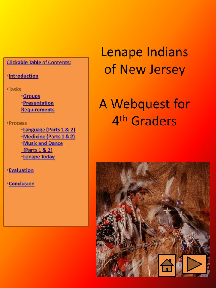 Lenape indians of new jersey a webquest for 4th graders ppt video lenape indians of new jersey a webquest for 4th graders publicscrutiny Image collections