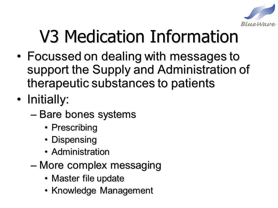 V3 Medication Information